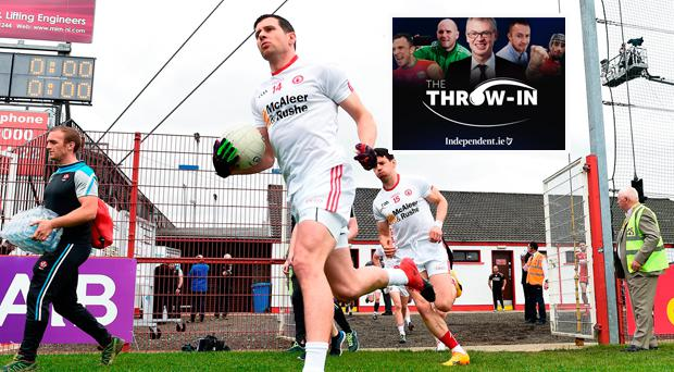Joe Brolly said Sean Cavanagh was finished on this week's episode of The Throw In