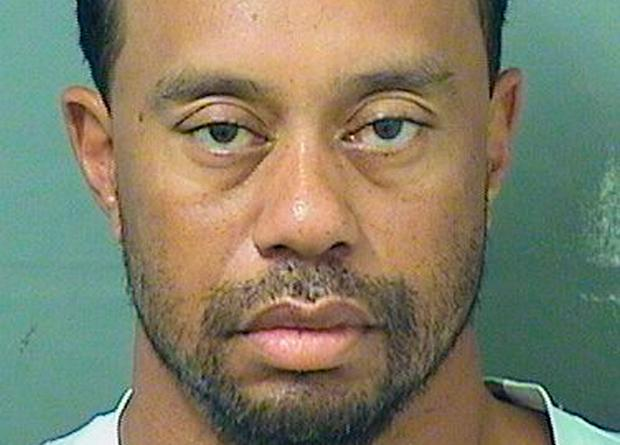 Tiger Woods' Florida mugshot. Photo: Palm Beach County Sheriff's Office/Handout via REUTERS