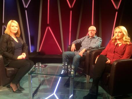 Claire Reddin and Chris Blount speak to Claire Byrne