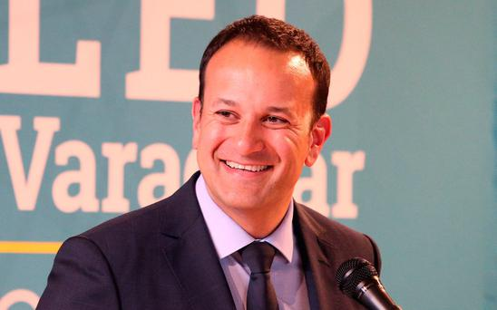 Fine Gael leadership candidate Leo Varadkar. Photo: Damien Eagers