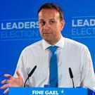 Mr Varadkar says that if he is elected taoiseach, he intends to take a hands on approach to health. Photo: Colin O'Riordan