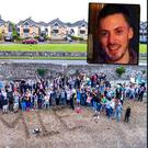 Friends and families pay tribute to Jamie (28)