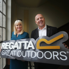 Minister for Jobs, Enterprise and Innovation Mary Mitchell O'Connor TD and Regatta Ireland director, Brian Fox