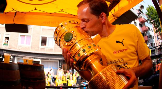 Thomas Tuchel won the German Cup over the weekend but is now out of a job