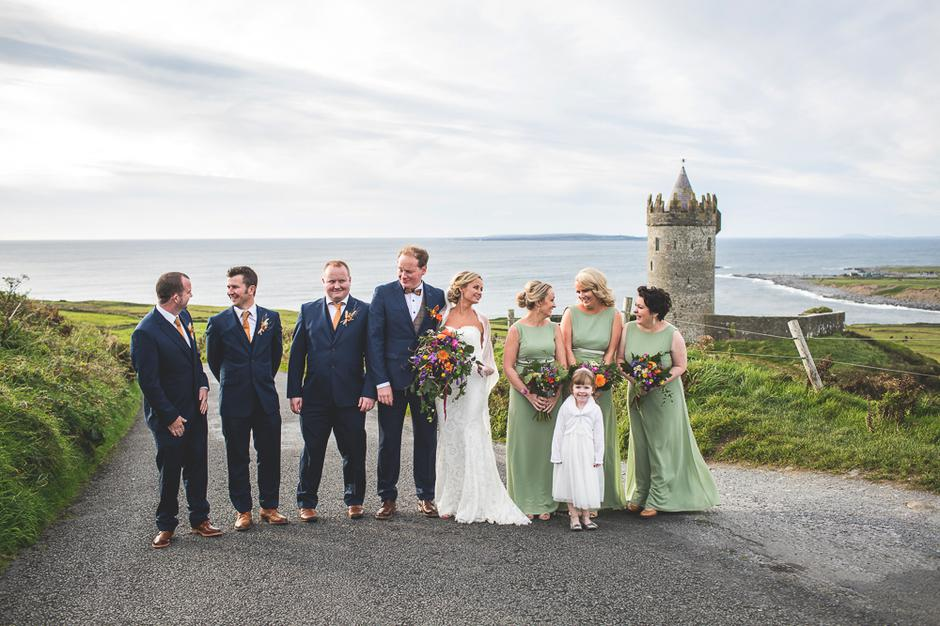 Married In Doolin A Magical Musical Irish Wedding In The West With