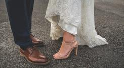 Michelle & Gavin Moore for a Real Irish Wedding feature. Picture: Mrs Redhead Photography