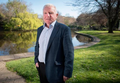 Paul McLoone, the picture of robust good health. Photo: Fergal Phillips
