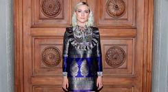 Saoirse Ronan arrives at the Gucci Cruise 2018 fashion show at Palazzo Pitti on May 29, 2017 in Florence, Italy. Picture: Getty Images for Gucci