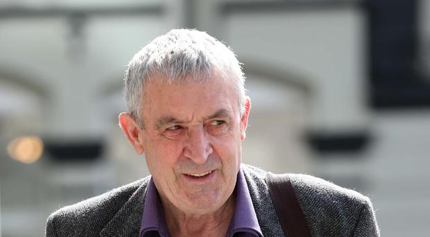 Frank Donaghy (71) is charged along with six others of the false imprisonment of then Tanaiste Joan Burton