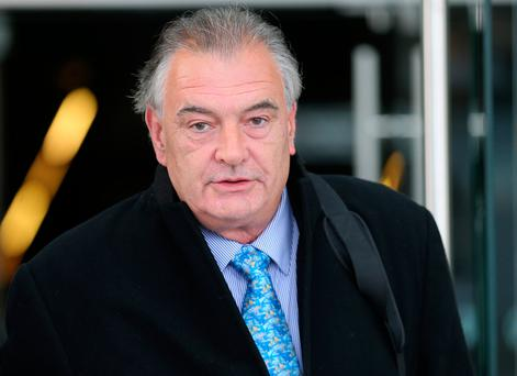 Ian Bailey outside court yesterday. Photo: Collins