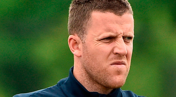 Colin Doyle of Republic of Ireland during squad training at NY Red Bulls Training Facility in Whippany, New Jersey, USA. Photo: Sportsfile