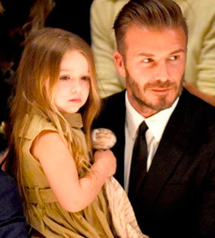 David Beckham's daughter Harper may have sparked a surge in the name's popularity