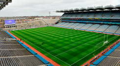 The GAA are reviewing security arrangements in Croke Park ahead of a hectic four-month period when more than 750,000 people will attend games and concerts in the stadium. Photo: Sportsfile
