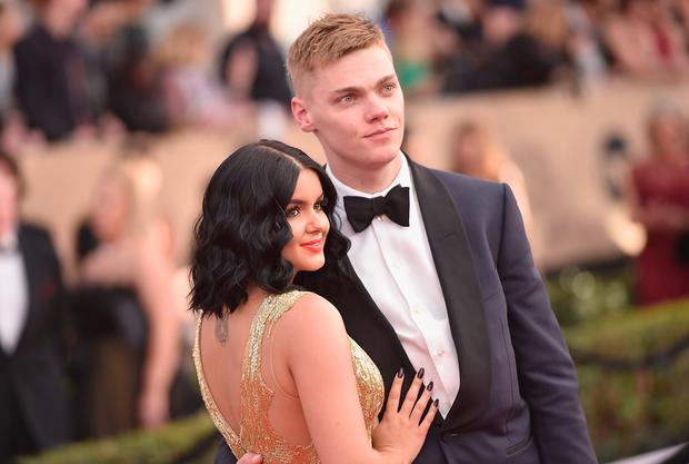 Ariel Winter and Levi Meaden attend the 23rd Annual Screen Actors Guild Awards at The Shrine Expo Hall on January 29, 2017 in Los Angeles, California. (Photo by Alberto E. Rodriguez/Getty Images)