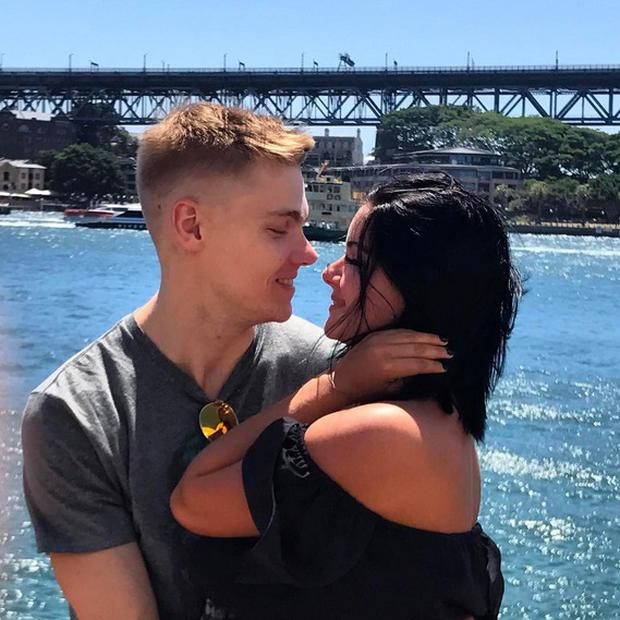 Ariel Winter and boyfriend Levi Meaden. Picture: Instagram