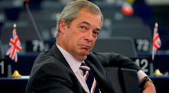 Nigel Farage Picture: Reuters