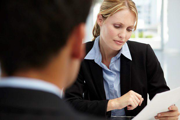 Try To Get Across The Positive Difference You Would Make The Company (Stock  Image)