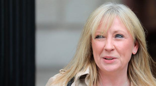 Gina Van Amersfoorth pictured leaving the Four Courts