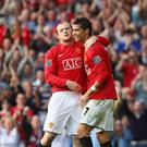 Ronaldo won three league titles during his time at United. Getty