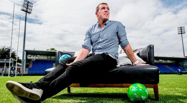 Richard Dunne believes Cyrus Christie is the best option to replace Seamus Coleman. Photo: James Crombie/INPHO
