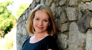 Career path: Claire Byrne is very good at 'doing the swan', presenting a calm and unruffled exterior to the audience of her TV show Claire Byrne Live. Photo: Caroline Quinn