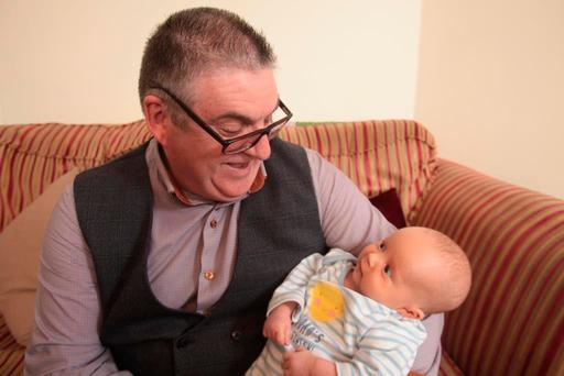 Rugby mad and family man Michael Clancy (59) is raising awareness of Motor Neurone Disease this June.