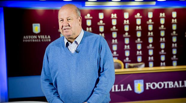 BIRMINGHAM, ENGLAND - MAY 18 : Keith Wyness CEO of Aston Villa talks to the press during a press conference at Villa Park on May18, 2017 in Birmingham, England. (Photo by Neville Williams/Aston Villa FC via Getty Images)