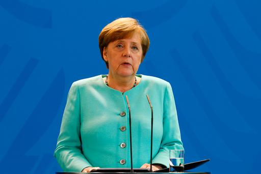 Angela Merkel condemned US President Donald Trump, but has vowed that the rest of the world will still tackle climate change. Photo by Michele Tantussi/Getty Images