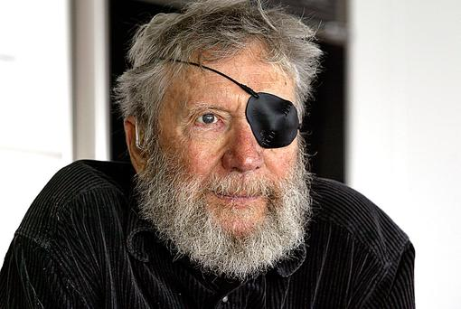In this September 7, 2006 photo, is Jack O'Neill, in Santa Cruz, Calif. A California surfing world icon who pioneered the wetsuit has died. O'Neill's family says he died Friday, June 2, 2017, at home of natural causes. He was 94. (Dan Coyro/The Santa Cruz Sentinel via AP)
