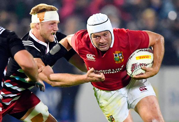 Lions' star Rory Best will start against the Highlanders