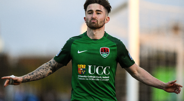 Cork City's Sean Maguire. Photo: Ramsey Cardy/Sportsfile