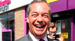 Former Ukip leader Nigel Farage. Photo: PA Wire
