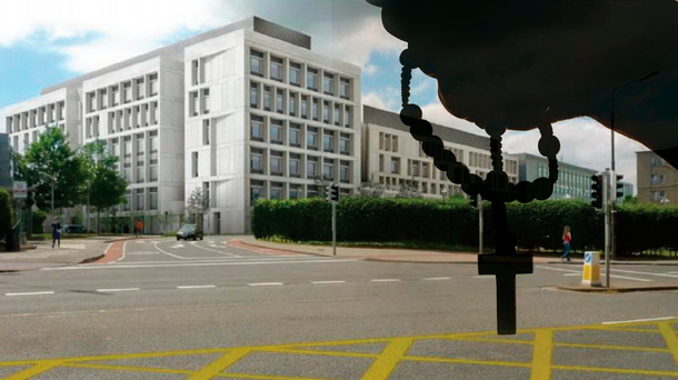 An artist's impression of the proposed new National Maternity Hospital
