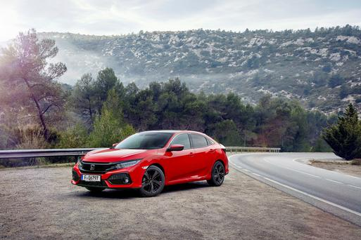 CIVIC RECEPTION: The new Honda Civic is a head-turner and a class-leader in terms of safety, but the price is high