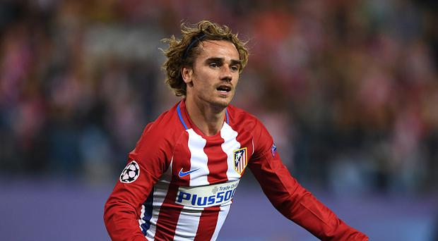 Antoine Griezmann of Atletico Madrid looks on during the UEFA Champions League Semi Final second leg match between Club Atletico de Madrid and Real Madrid CF at Vicente Calderon Stadium on May 10, 2017 in Madrid, Spain. (Photo by Laurence Griffiths/Getty Images)