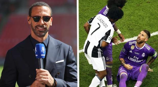 Rio Ferdinand was unimpressed with Sergio Ramos' play-acting. CREDIT: GETTY IMAGES