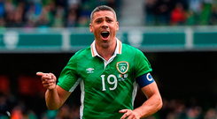 Walters: on target. Photo by Ramsey Cardy/Sportsfile