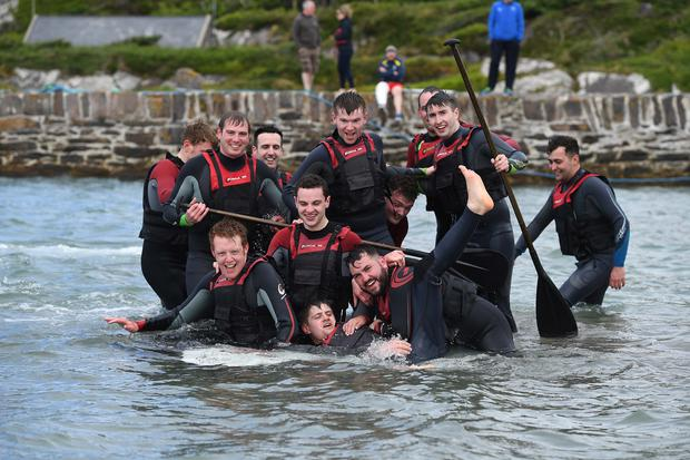 The Rose of Tralee escorts have made it through a training 'boot camp' in Co Kerry. Picture: Domnick Walsh