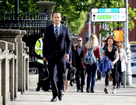 New Fine Gael leader Leo Varadkar has outlined five key immediate priorities he wishes to tackle. Picture: Tom Burke