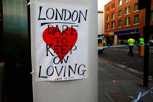 We have stood with London before. We will now. Photo: REUTERS