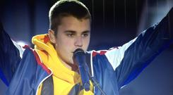Justin Bieber at One Love