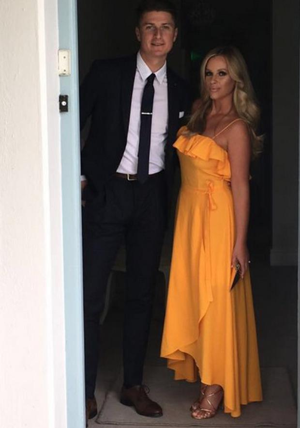 Holly Keating and fiancé Michael McCarthy
