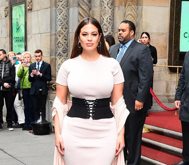 Model Ashley Graham at Variety Power Women Lucheon on April 21, 2017 in New York City. (Photo by Raymond Hall/GC Images)