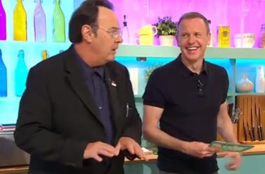 Dan Ackroyd on Channel 4's Sunday Brunch