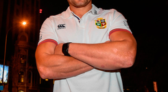 CJ Stander pictured outside the team hotel in Auckland. Photo by Stephen McCarthy/Sportsfile