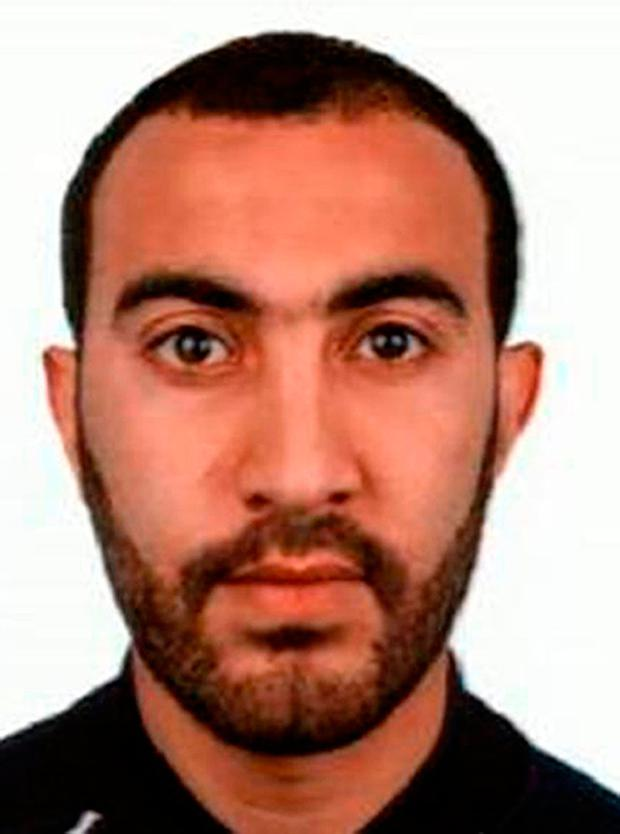 Metropolitan Police undated handout photo of Rachid Redouane who has been named as one of the men shot dead by police following the terrorist attack on London Bridge and Borough Market. Photo: Metropolitan Police /PA