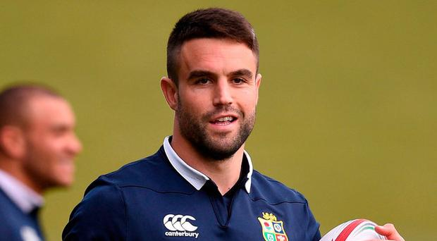 Conor Murray of the British and Irish Lions. Photo: Stephen McCarthy/Sportsfile