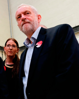 Jeremy Corbyn, who has undergone a political transformation in recent weeks, has demanded Theresa May's resignation as prime minister. Photo by Ian Forsyth/Getty Images