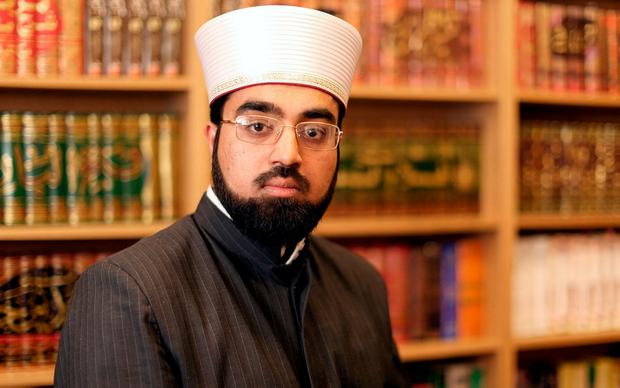 Shaykh Dr Umar Al-Qadri. Photo: Gerry Mooney