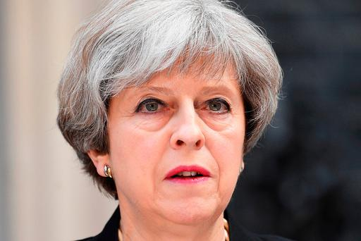 Britain's Prime Minister Theresa May. Photo: Getty Images